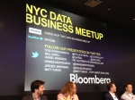 Speakers at the NYC Data Business Meetup